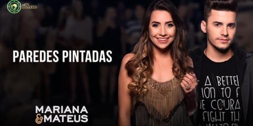 """Mariana e Mateus conquistam a marca de um milhão de visualizações com a música """"Paredes pintadas"""""""