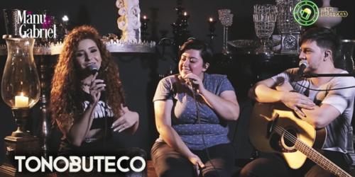 Manu e Gabriel gravam 'Trem-Bala' com participação de Ana Vilela