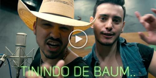 'Tinindo de Baum' a nova música de Brenno e Matheus com Léo e Raphael