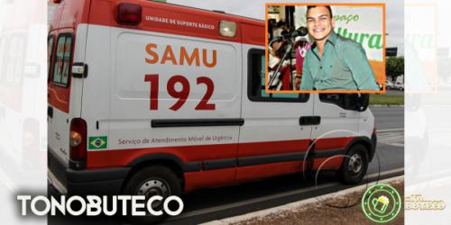 Cantor é encontrado gravemente ferido dentro do parque da Expoju e morre a caminho do hospital