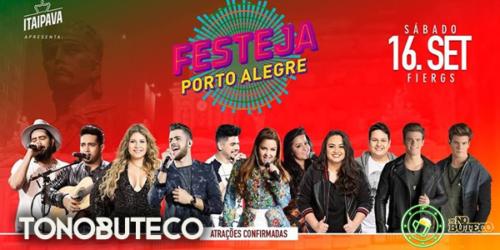 Atrações e Programação do Festeja Porto Alegre (2017)