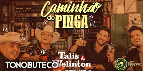 Talis & Welinton lançam a sofrência 'Caminhão de Pinga' com Humberto & Ronaldo