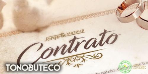'Contrato' a nova música de Jorge e Mateus. OUÇA!