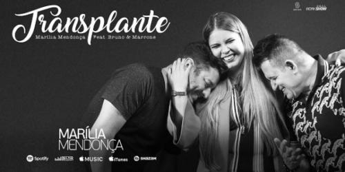 Marilia Mendonça lança a música 'Transplante' com Bruno e Marrone. OUÇA!