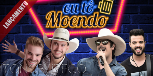 Jhony e Henrique lançam a música 'Eu Tô Moendo' com Fiduma e Jeca