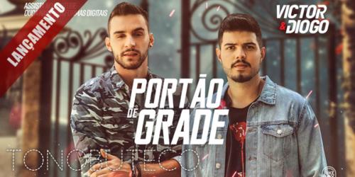 Victor e Diogo lançam o single 'Portão de Grade'