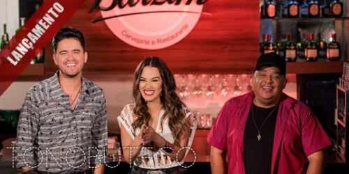 Cantora Janaynna lança 'Cozumel' com Humberto e Ronaldo.