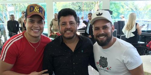 Diego e Ray são atração principal no encontro do presidente com sertanejos