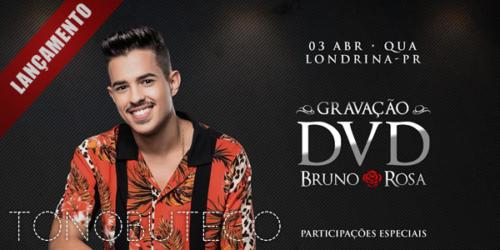 Bruno Rosa se prepara para gravar seu primeiro DVD