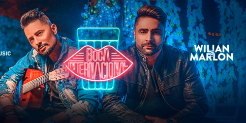 Wilian e Marlon lançam a música 'Boca Internacional'