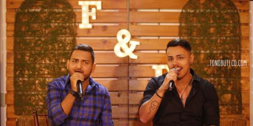 Flávio e Donato gravam primeiro clipe da carreira
