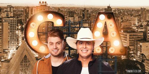 Conrado e Aleksandro gravam DVD em Londrina (PR) neste domingo