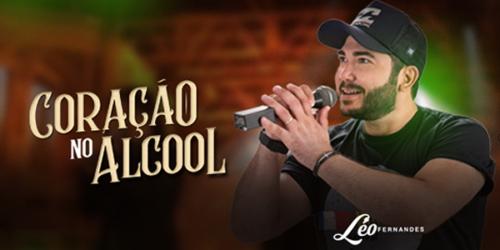 Léo Fernandes divulga a canção 'Coração no Álcool'