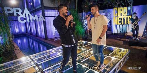 Ciro Netto e Manuel lançam 'Incomodo', a primeira do 'DVD Pra Cima'