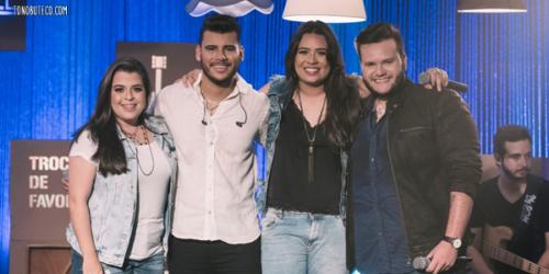 Théo e Gabriel lançam música com Rayane e Rafaela: 'Deixei de Ser Ímpar'