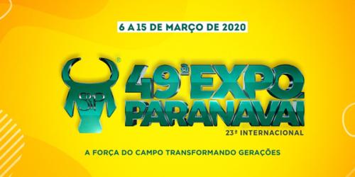 Expo Paranavaí 2020 – confira a programação e grade de shows