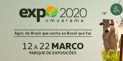 Expo Umuarama 2020 – confira a programação e grade de shows