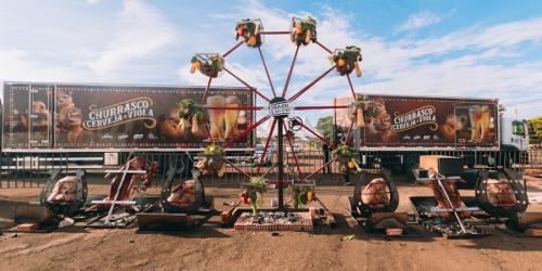 'Churrasco, cerveja e viola': A maior estrutura móvel de churrasco do Brasil chega em sua cidade