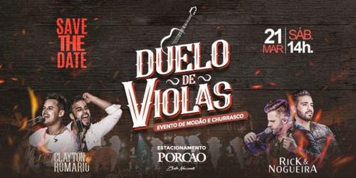 'Duelo de Violas': evento de modão e churrasco em Belo Horizonte (MG)