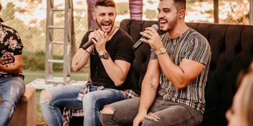 Leandro e Romani liberam o clipe de 'Amor ou Aventura'
