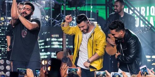 Murilo Huff lança a música 'Desejando Eu' com Henrique e Juliano, a primeira do DVD