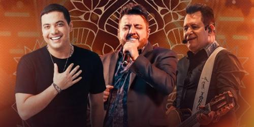 Sábado tem encontro de gigantes: Wesley Safadão com Bruno e Marrone
