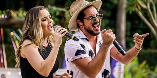 ReZenha musical recebeu a dupla Thaeme e Thiago