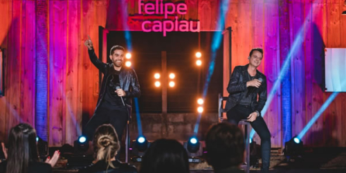 'Apadrinhados' de Maestro Pinocchio, Felipe e Capiau lançarão 1º DVD em outubro
